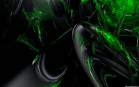 Green Techno Wallpaper