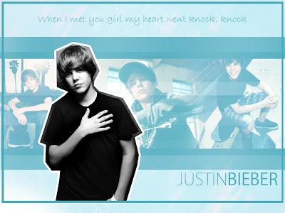 Knock Knock.. Justin Bieber