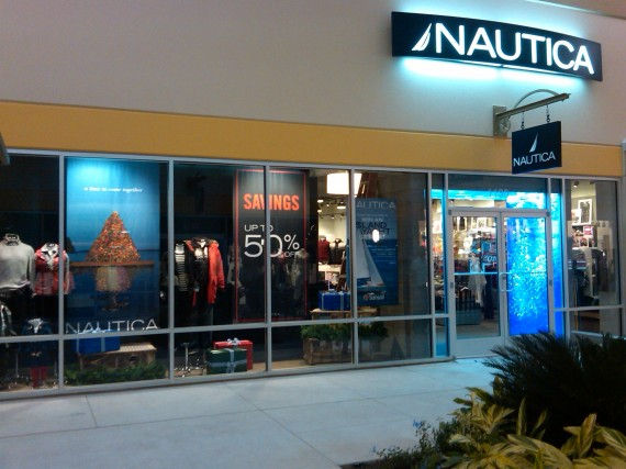 Use Nautica's store locator to find your nearest Nautica Outlet store. Select