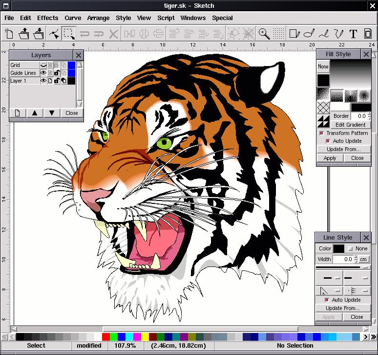 corel draw 3 на 7