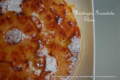 La montagna incantata torta all 39 ananas cotta in - Batteria da cucina imco ...