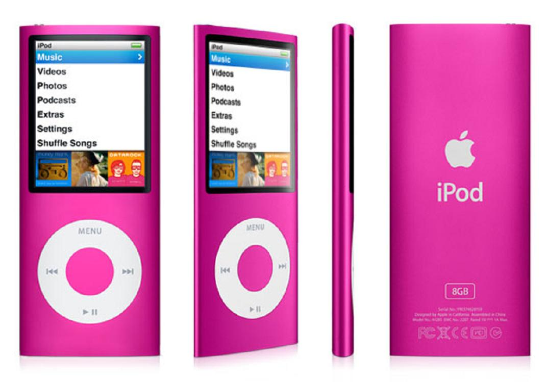Pink iPod Nano 8GB 4th Generation