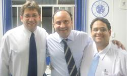 Vicente Loredo, Luís Cláudio, Carlos Rafael