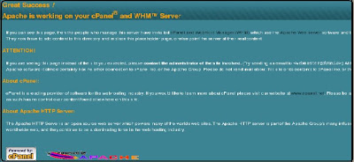 Cpanel installation in whm panel Linux web hosting centos