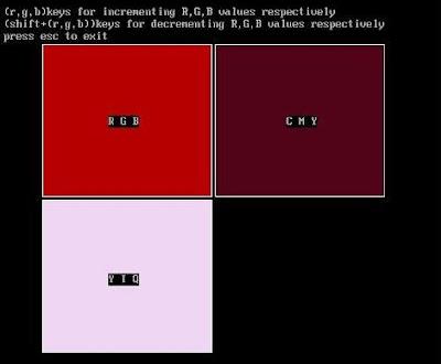 Color models convert between RGB Color in Computer Graphics