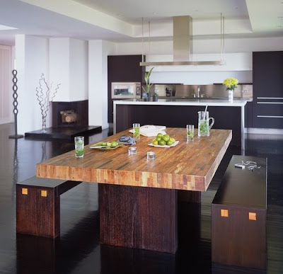 Reclaimed Wood Dining Furniture on Dining Table Is From Environment Furniture Which Uses Reclaimed Wood