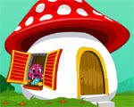 Mushroom House Escape