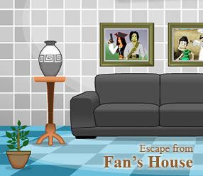 Solucion Escape from Fan's House Guia
