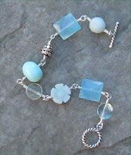 Chalcedony, Amazonite, Opal and Aquamarine