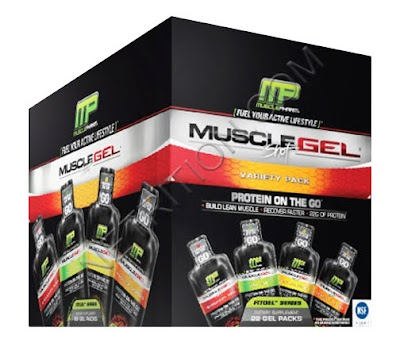 Muscle Pharm's MuscleGel