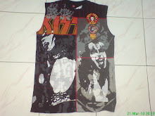 kiss sleeveless rare