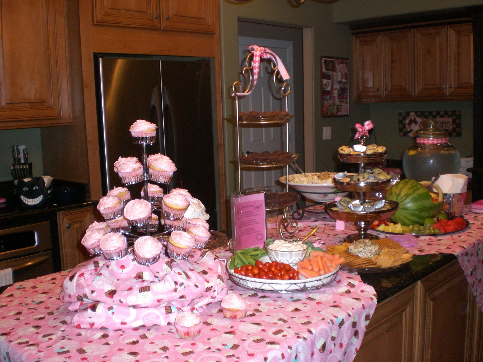 Sassy Stripes Catering ○ ○ Baby Shower Cupcake Theme