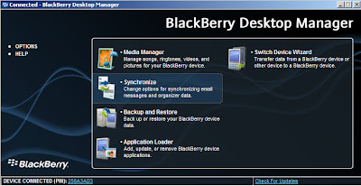 Cara Setting BlackBerry Jadi Modem