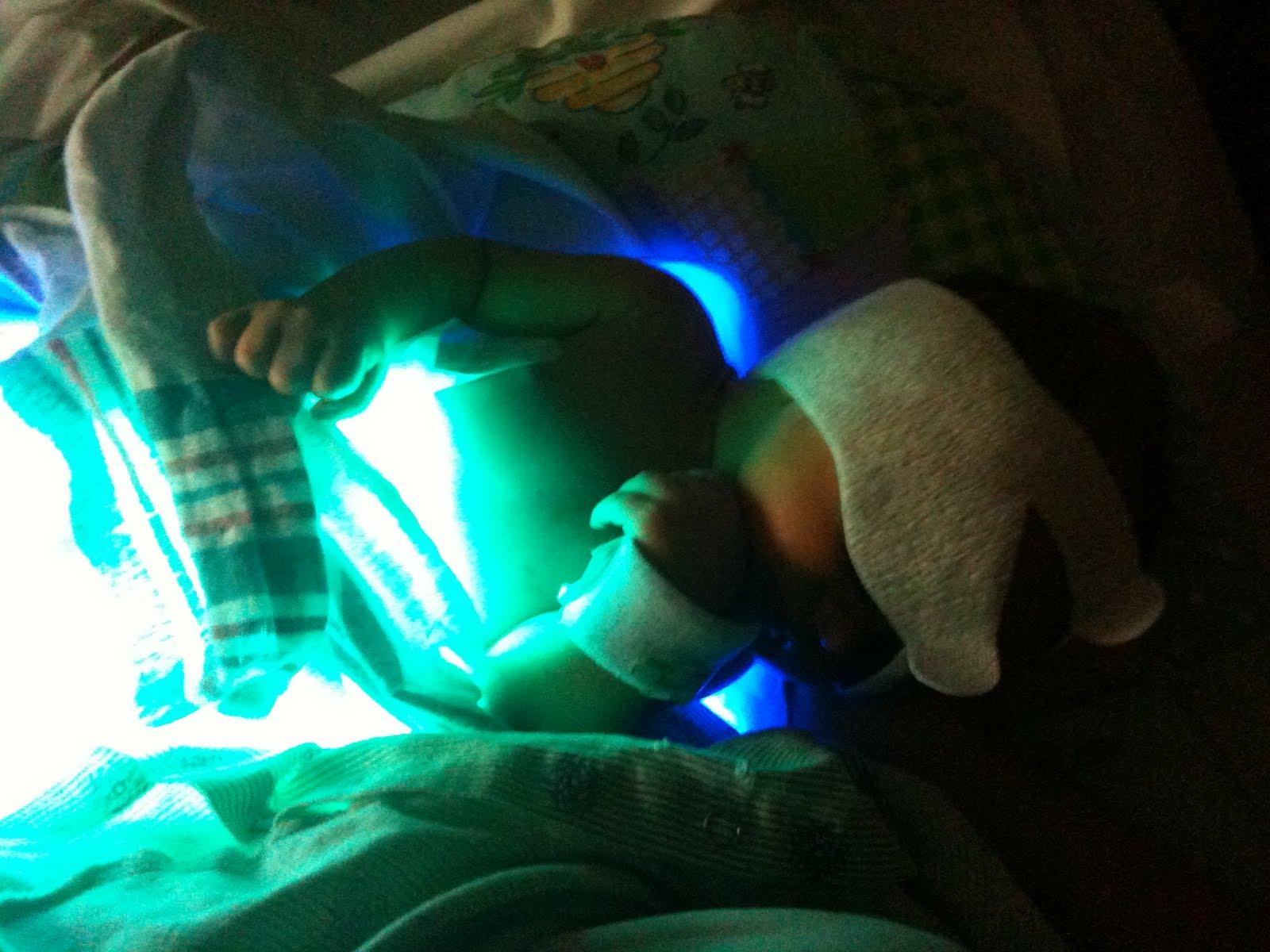 Alejandro, Luis, Mary, and Diego: Glow Worm Alejandro!