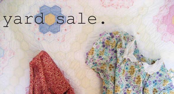 Anna's Yard Sale