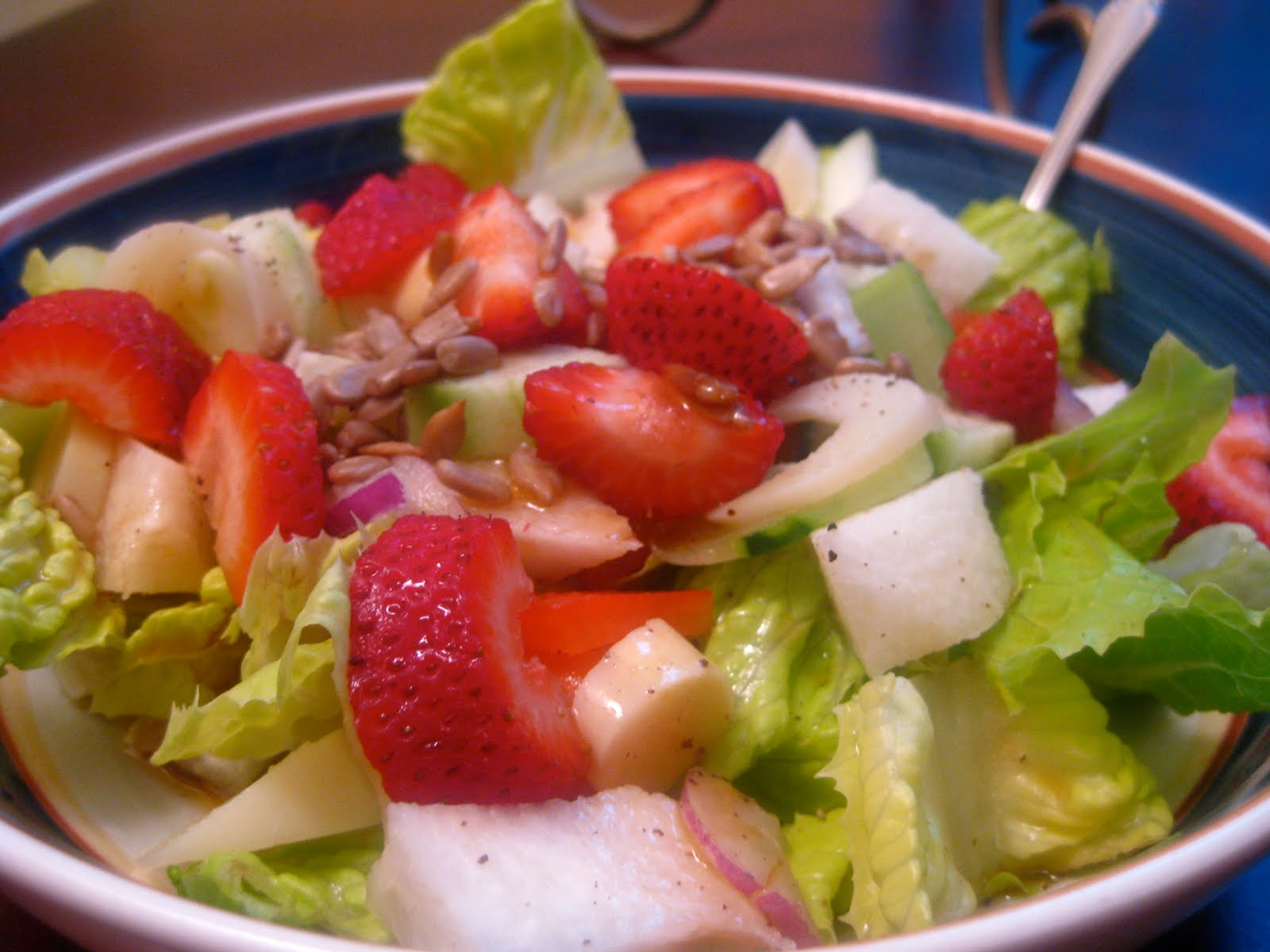Cool summer salads perfect for a picnic or beach pasta salad with