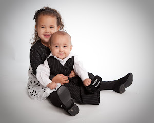 The Kiddos: Abigail & Maxwell