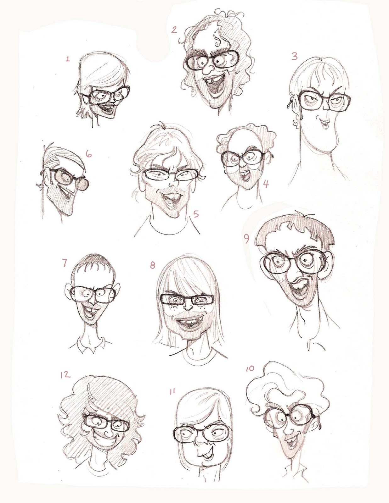 Animation Character Design Spot : Character designs by golden street animation