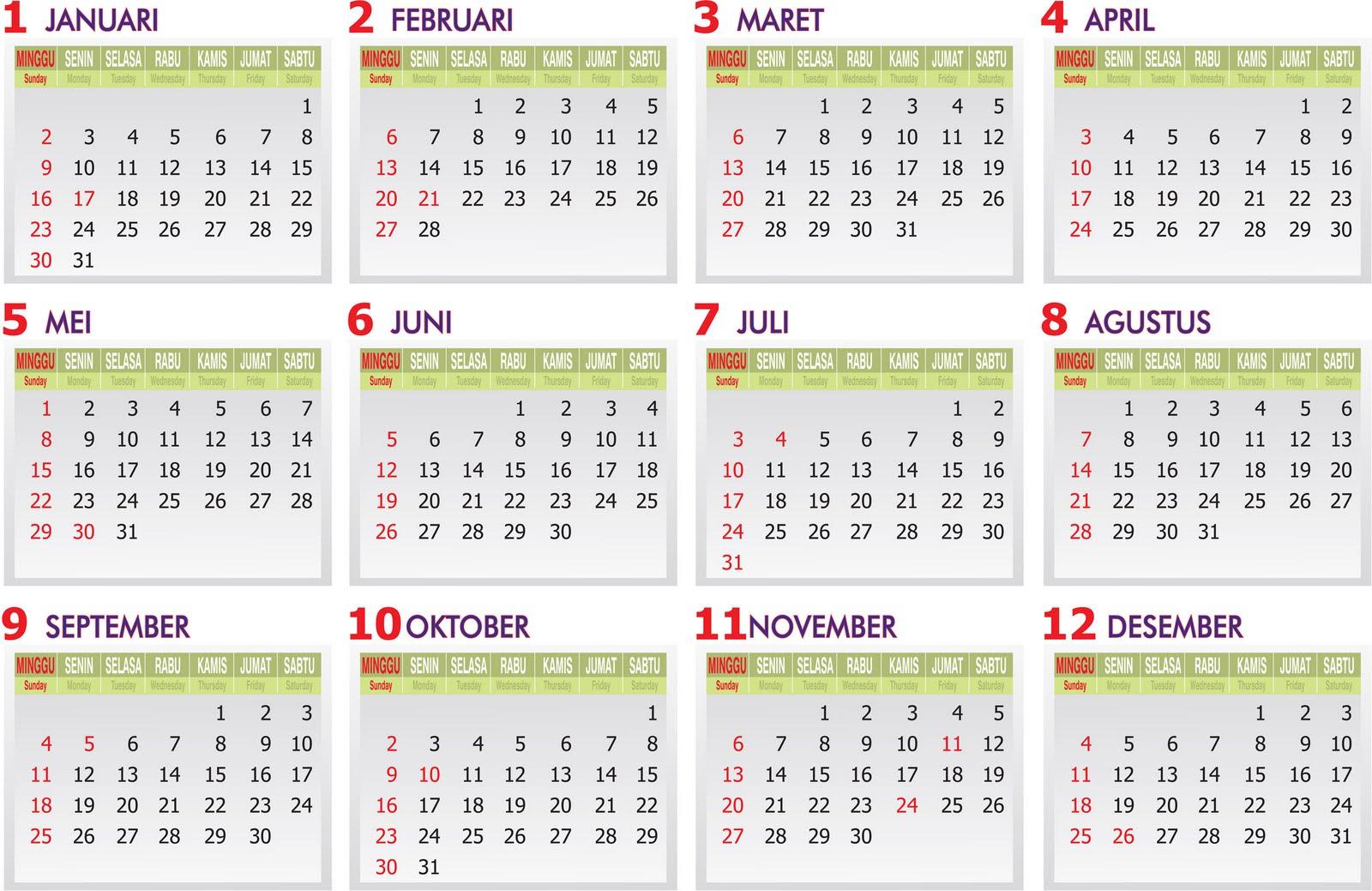 ), daftar libur bersama dan cuti bersama 2011 adalah sebagai berikut
