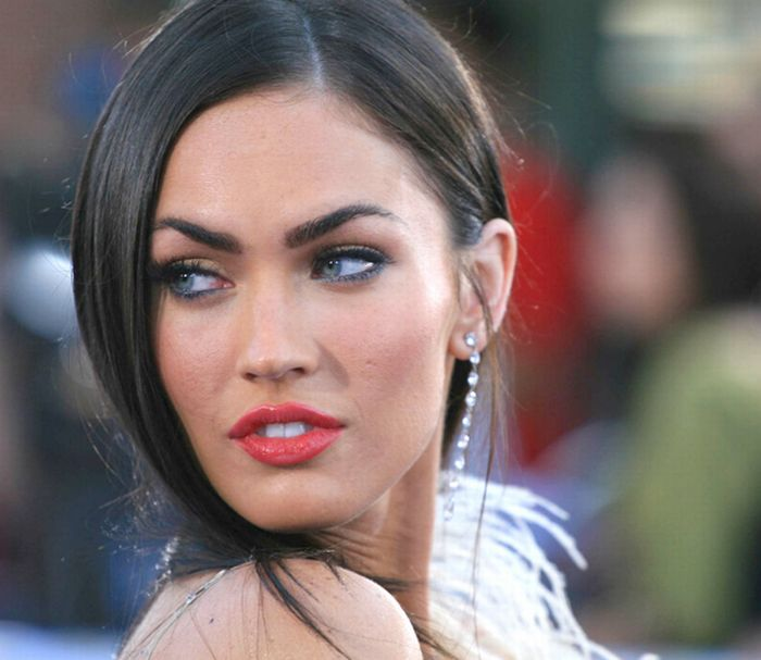 megan fox before and after pics. Megan+fox+efore+and+after+photoshop