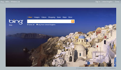 Bing Arama Motoru Ekran Goruntusu