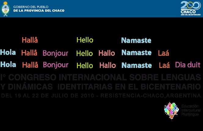I° Congreso Internacional sobre  Lenguas y dinámicas identitarias en el Bicentenario
