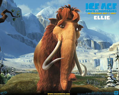 dinosaurs wallpapers. Ice Age 3 Dawn of the Dinosaurs - Wallpapers