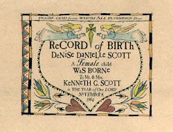 Records of Birth Fraktur  $39