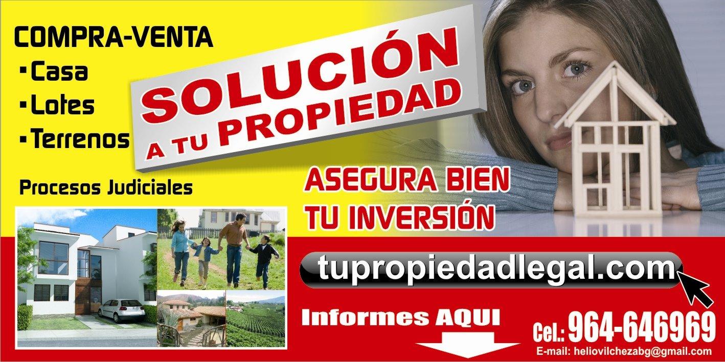 PROPIEDAD LEGAL . COM                        HUANCAYO -  PERU