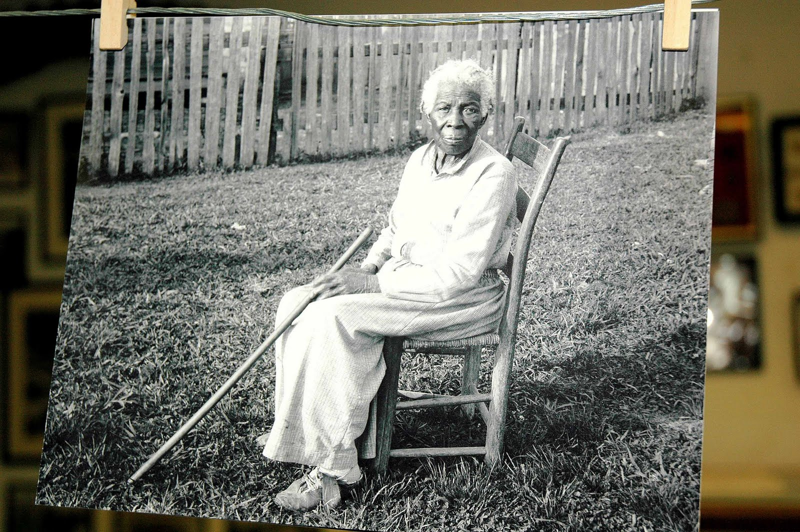 Here is one of my favorite photos in the Rosenburg Collection at The Old Depot Museum an elderly woman seated in a ladder-back chair and no one has been ...  sc 1 st  Selma Ala. Daily Photo & Selma Ala. Daily Photo: Lady in the Ladder-back Chair