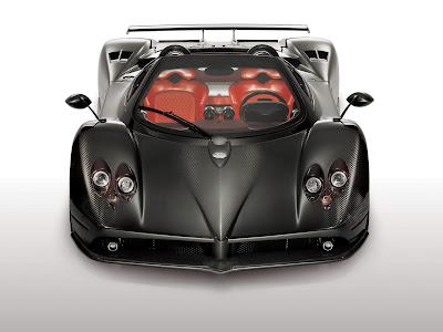 Super Car Pagani Zonda. Acura American Le Mans Series Concept Car