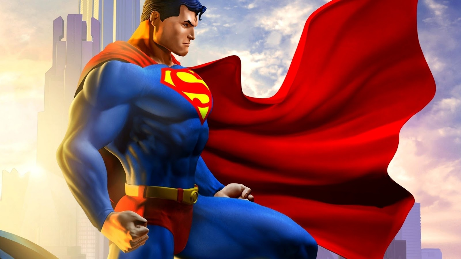 Man Of Steal Superman Wallpaper Hd
