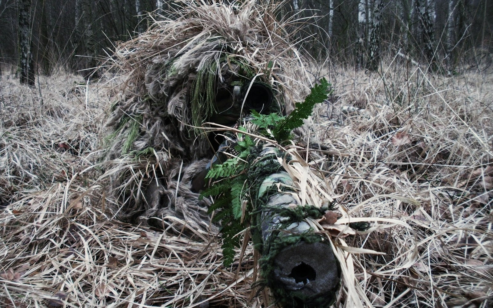 Sniper Wallpaper Camouflage Grass Hd Desktop Wallpapers