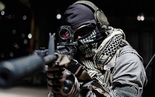 CoD 8 Modern Warfare 3 Ghost Real Life Soldier MW3 HD Wallpaper