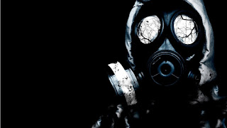 Aftermath - Soldier With Gas Mask Toxic Waste Epic HD Wallpaper