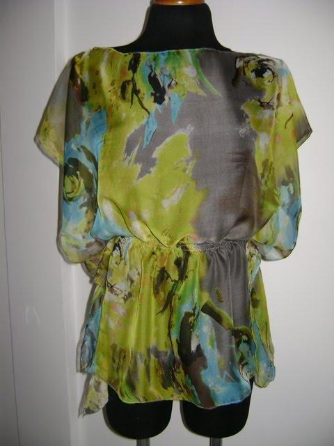 Mi Atelier de Costura: Blusas de Chifón