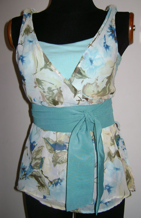 Mi Atelier de Costura: Blusa de Chifón