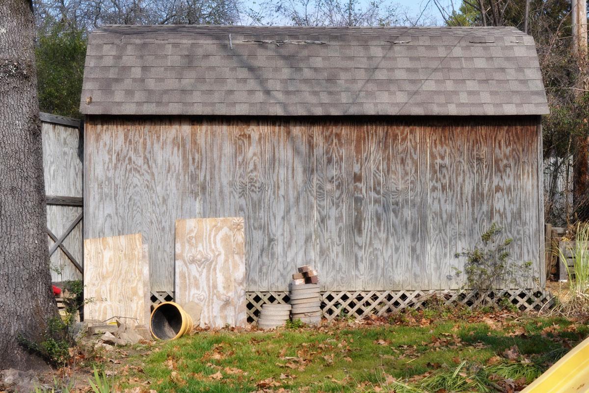 The Photo Goo Backyard Shed
