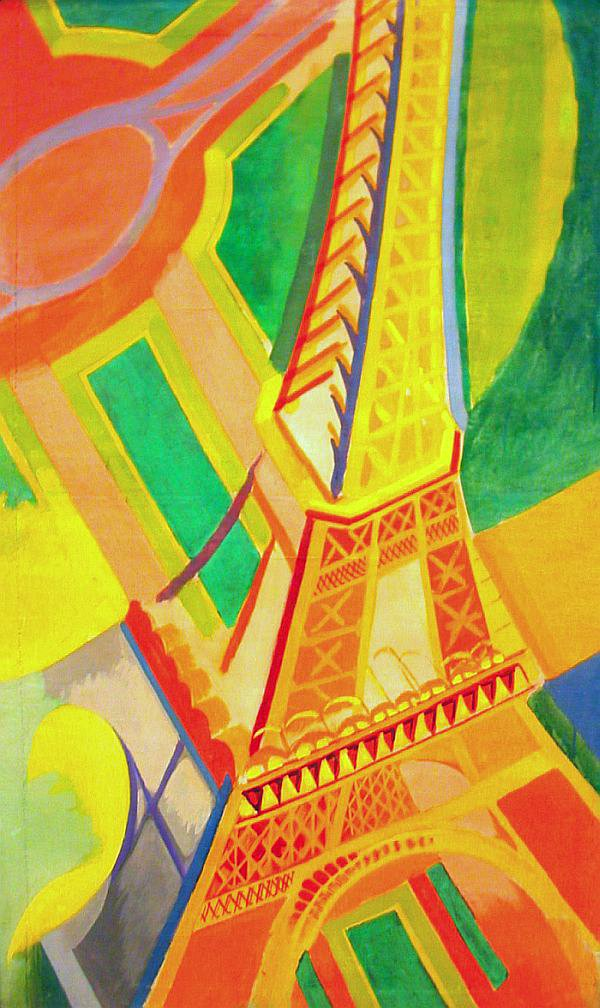 This Is Nice Yeah Robert Delaunay The Eiffel Tower