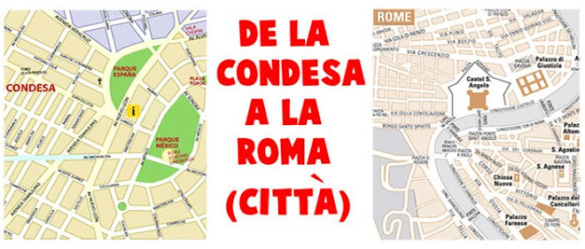 De la Condesa a la Roma (città)