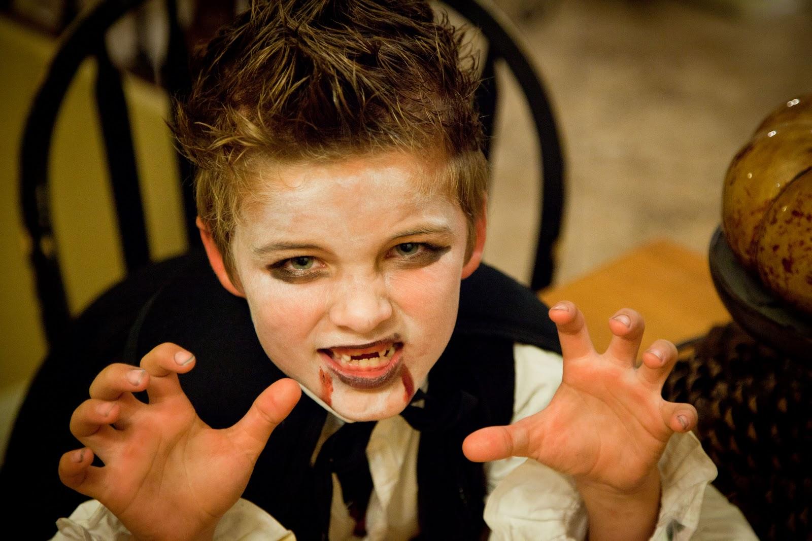 Wear His Vampire Makeup