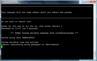 How to change hostname on HP-UX