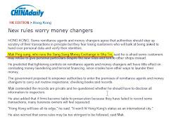 Sang Sang Director Mr. Mak interview with China Daily 10 JUL 2009