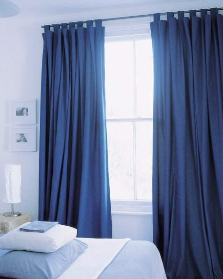 Cortinas para el hogar cortinas elegantes y f ciles de - Hacer cortinas en casa ...
