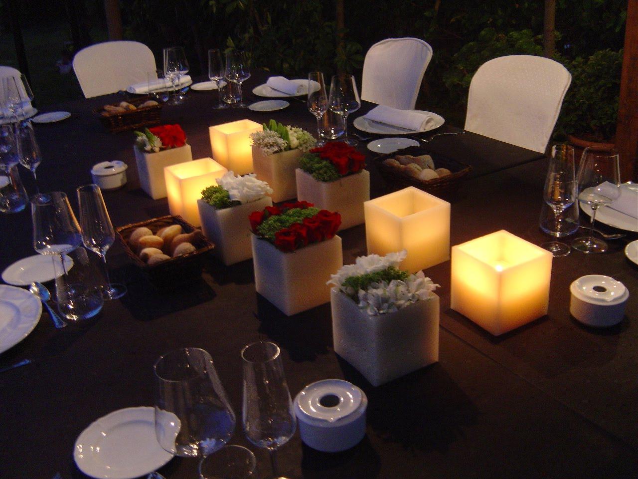 Ideas para dise ar centros de mesa junio 2010 - Ideas cena amigos ...