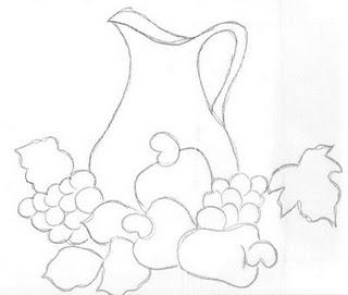 Patrones para pintar en tela patrones gratis para pintar - Dibujos infantiles para pintar en tela ...