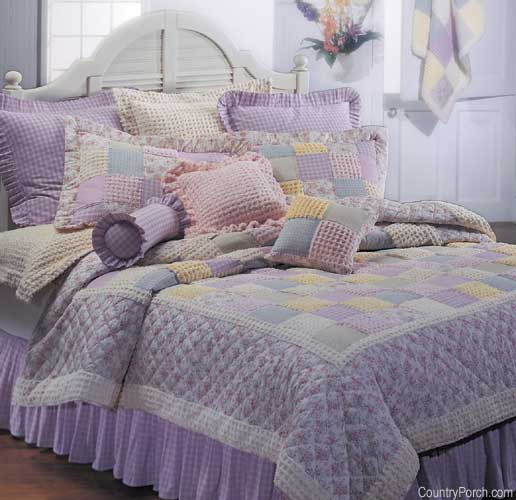 IDEAS PARA PATCHWORK: IMGENES DE HERMOSOS CUBRECAMAS