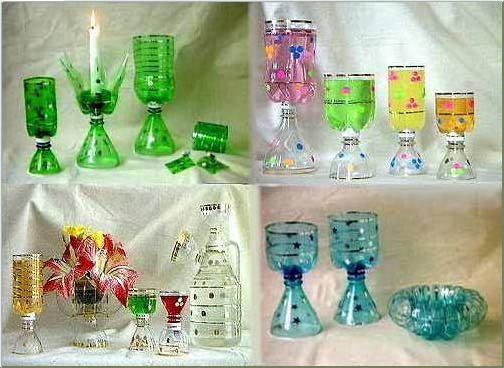 Plastic Bottles Crafts Ideas Out