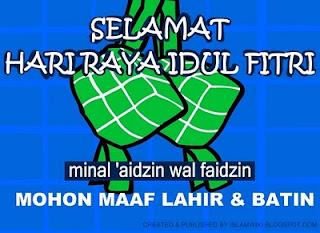 gambar katu ucapan selamat idul fitri minal 'aaidzin wal faidzin  001