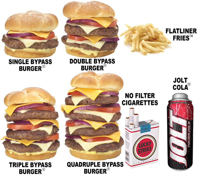 heart attack grill burger. heart attack grill locations.